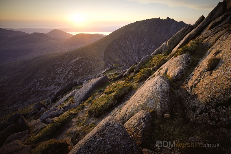 Sunset from Cir Mhor [5D4_1360]