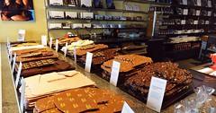 Čerstvá švýcarská čokoláda značky Läderach