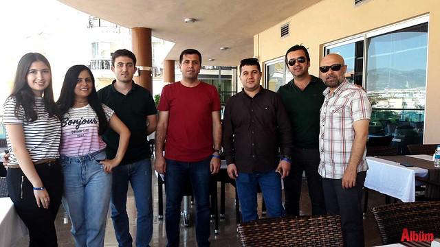 Azeri gazeteciler Alanya'da