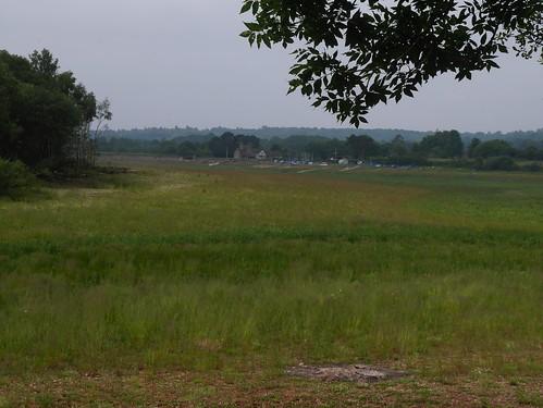 Drained Upper Bittell Reservoir