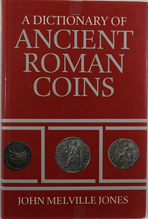 Dictionary of Ancient Roman Coins book cover