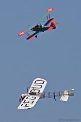 Blériot XI-II / Amicale Jean-Baptiste Salis / F-AZPG & Leopoldoff L55 Colibri / Private / F-PRJJ - Photo of Itteville