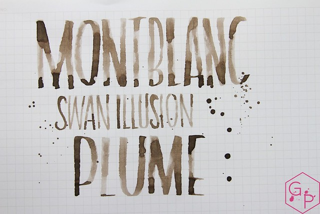 Montblanc Swan Illusion Plume Ink Review @AppelboomLaren @Montblanc_World 20