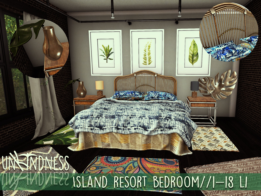 uK – Island Resort Bedroom Set – C88