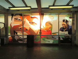 Growing Englewood Art at the 63rd Street CTA Red Line Station