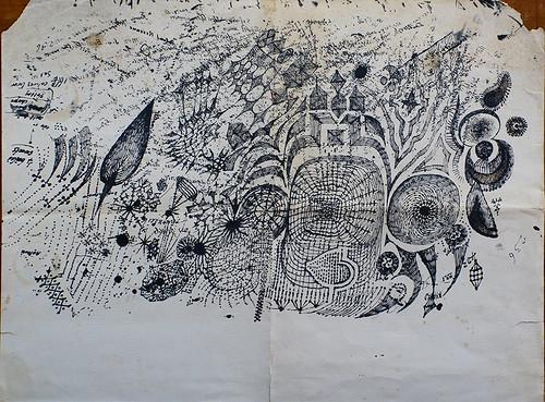 Edward Bawden's blotter