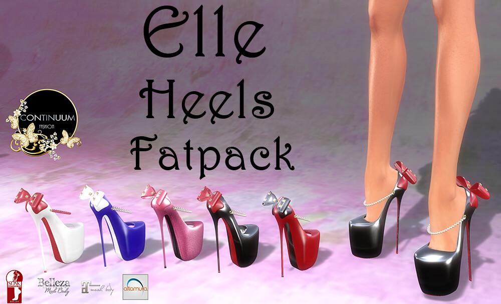 Continuum Elle  Heels Fatpack