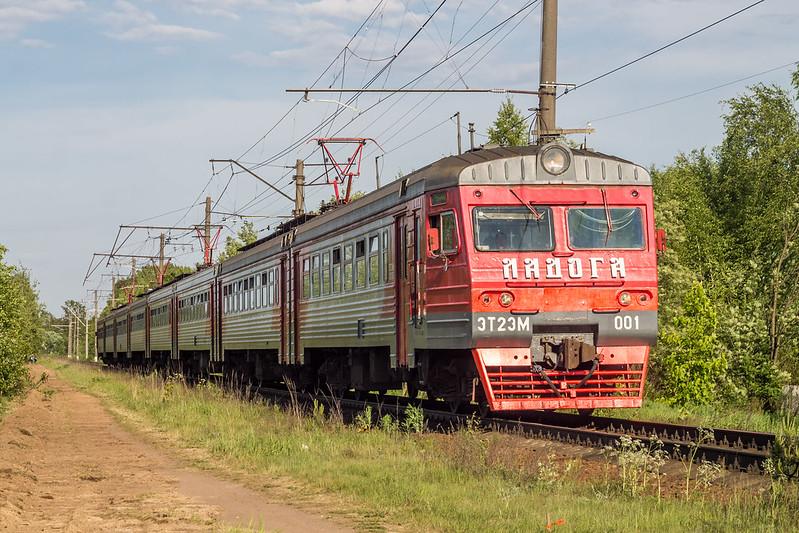 ЭТ2ЭМ-001, Петрокрепость - Кирпичный завод