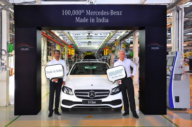 Mercedes 100000th