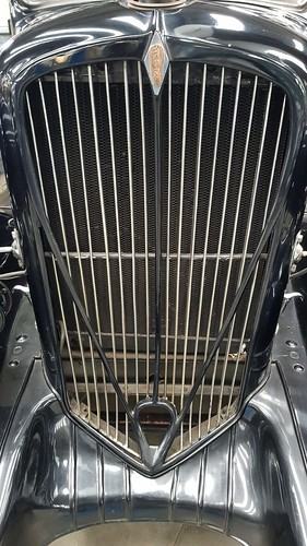 Rookne Grill 1932, part of the Studebaker company. WA Motor Museum at Whiteman Park, WA