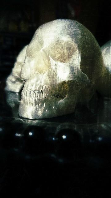 June 3 - Old skull