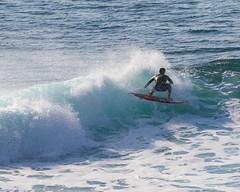 Pro Surfing at Uluwatu