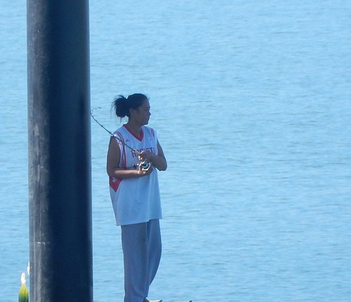 Fishing By a Pole