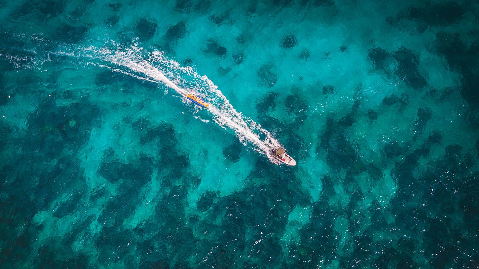 Bali Hai BananaBoat - Bali Drone production