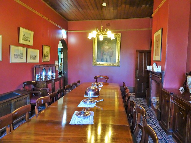 Beaumont Adelaide. The dining room of Beaumont House. Designed by the first Anglican Bishop of Adelaide. Built from 1849 to 1851.