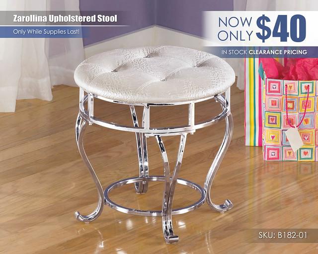 Zarollina Upholstered Stool_CLEARANCE_B182-01