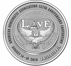 2018 ANA convention medal design reverse