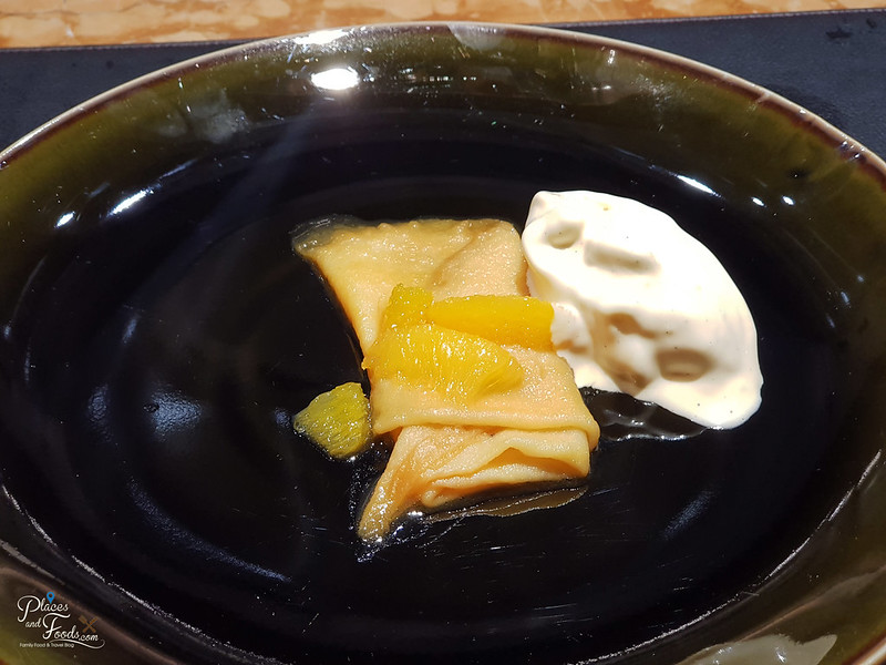 teppan by chef yonemura crepe suzette