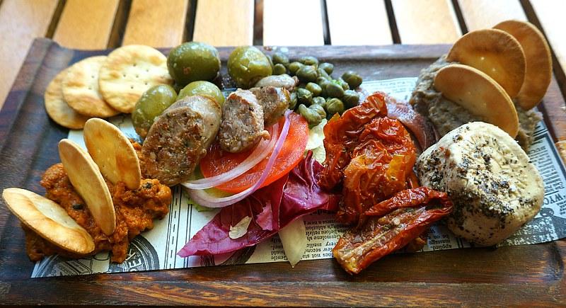 Maltese Cuisine Sampler Platter