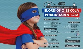 Elorrioko eskola publikoaren jaia 2018