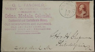 FANCHER, GL 1_19_1886 postal cover