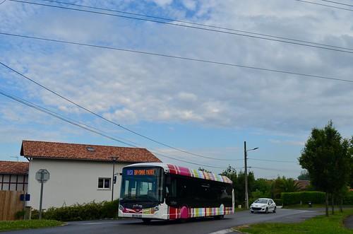 Saint-Pierre-d'Irube - HeuliezBus GX 327 BHNS - 24/05/18