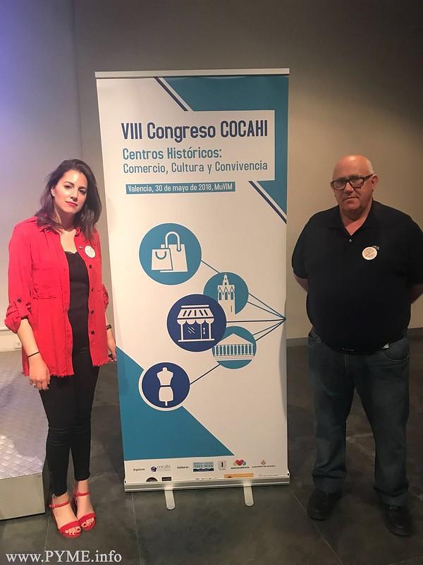Los comerciantes de Ciudad Rodrigo en el Congreso de COCAHI