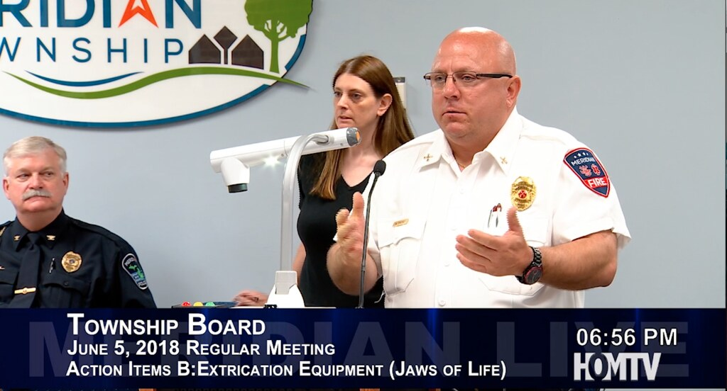 Fire Department Requests New Jaws for Life Equipment