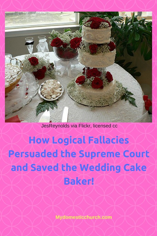 How Logical Fallacies Persuaded the Supreme Court and Saved the Wedding Cake Baker! (1)
