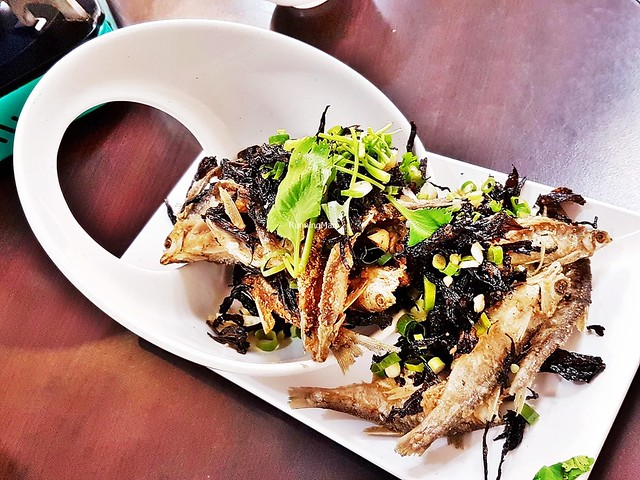 Crispy Fried Sharpbelly Fish