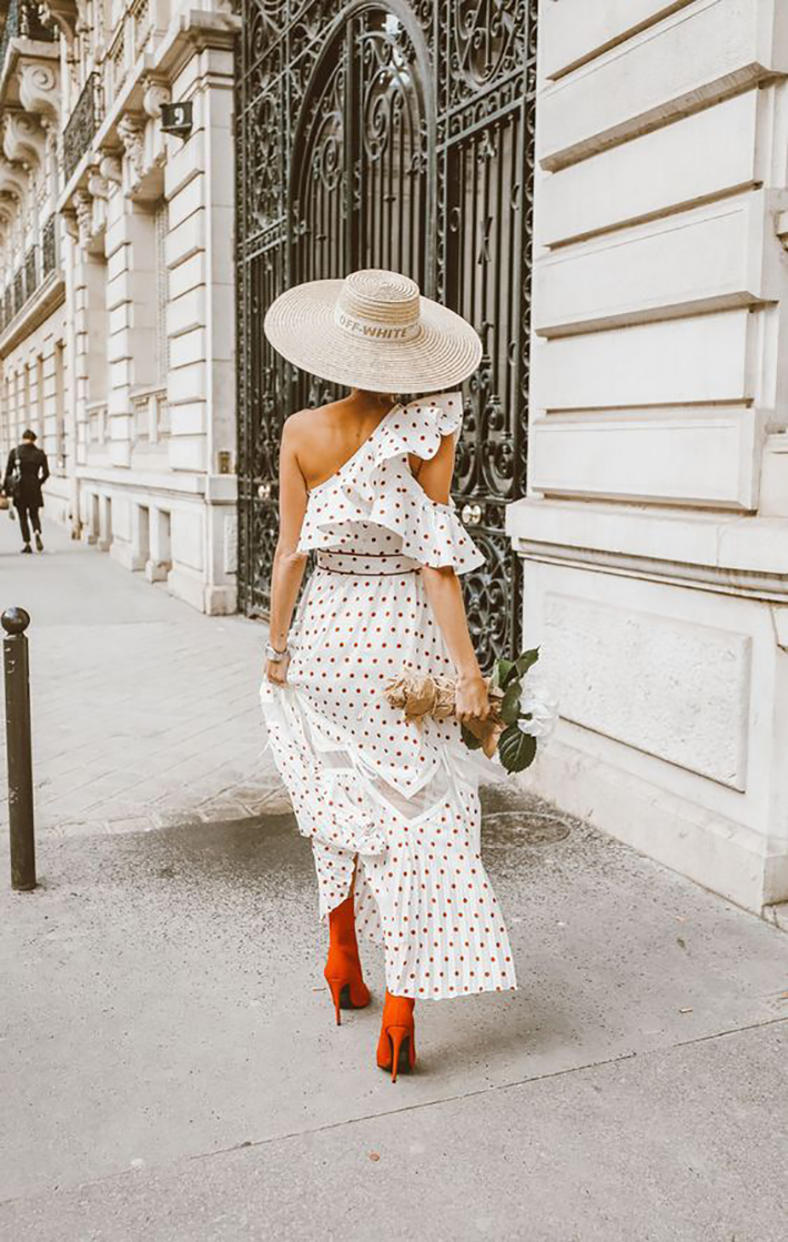 polka dot outfits for this summer trend 2018 style fashion tendencias1
