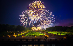 Fireworks at the Vaux-le-Vicomte III, Maincy, 20180609