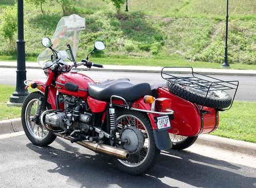 Ural motorcycle (Russian)