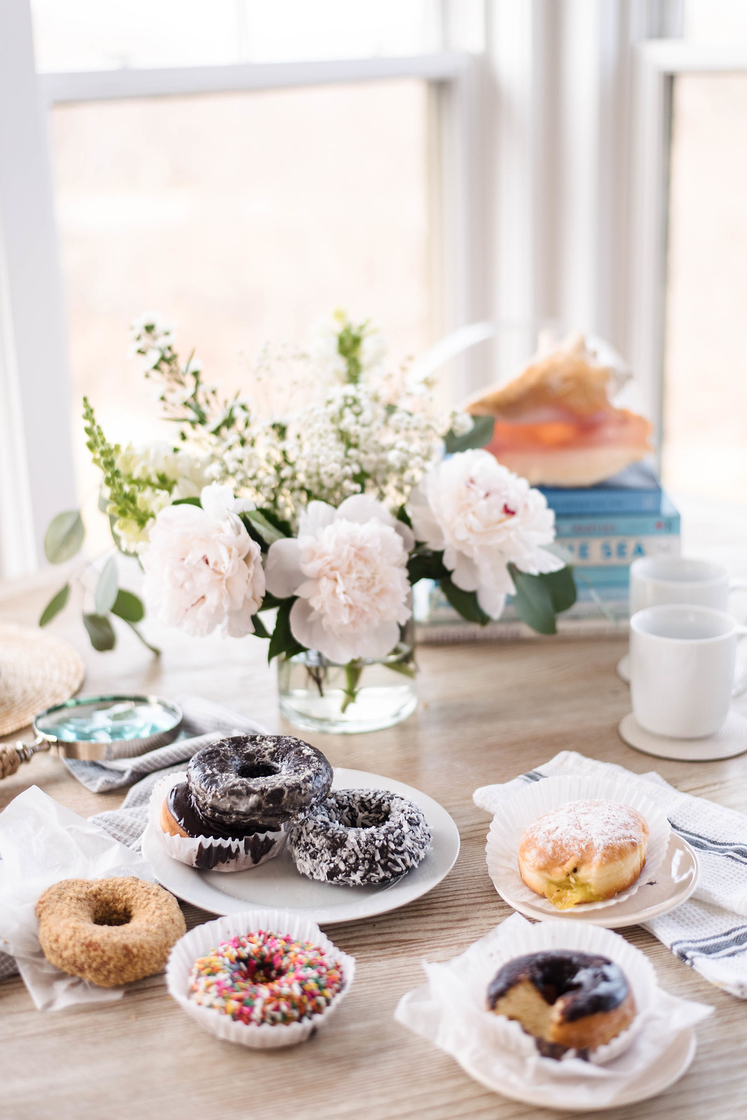 Donuts and Flowers  on http://juliettelaura.blogspot.com/