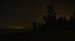 Ashtabula lights the horizon