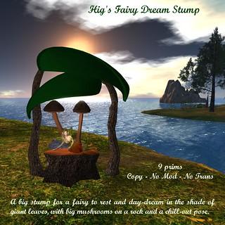 Hig's Fairy Dream Stump