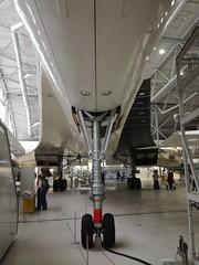 Concorde nose wheel