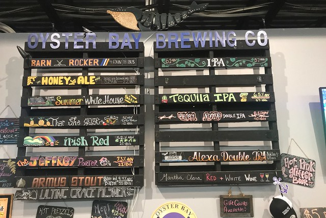 金, 2018-06-15 15:07 - Oyster Bay Brewing Co.