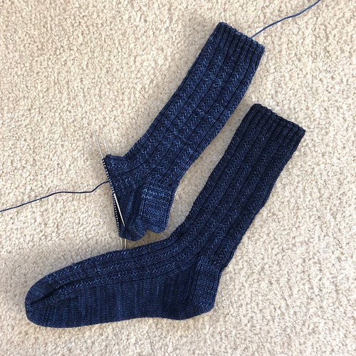 Ink skyp socks