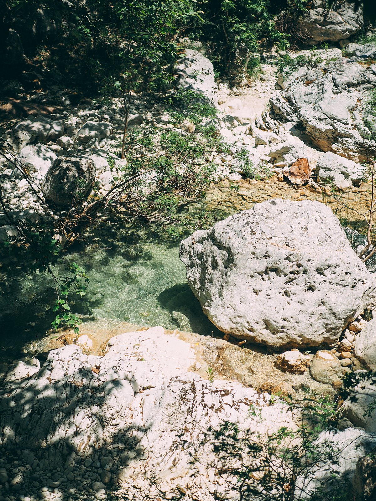 Lefkas nidri waterfalls