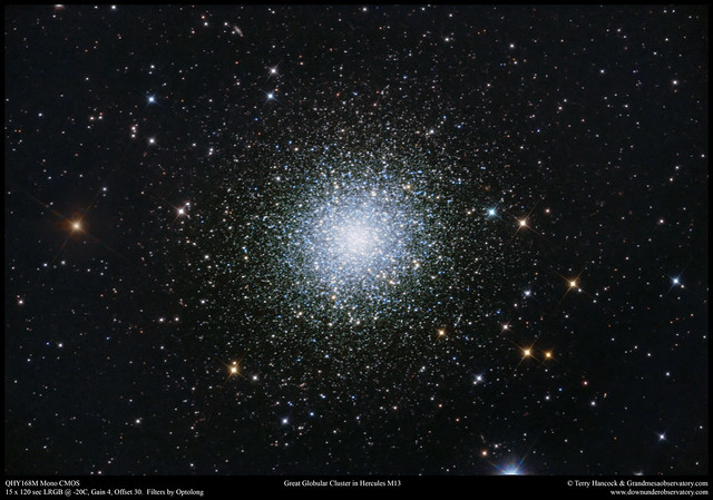The Great Globular Cluster in Hercules M13