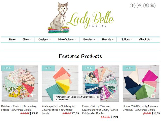 Lady Belle Fabric Snip