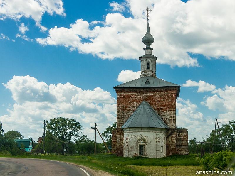 Церковь Георгия Победоносца в Крапивье
