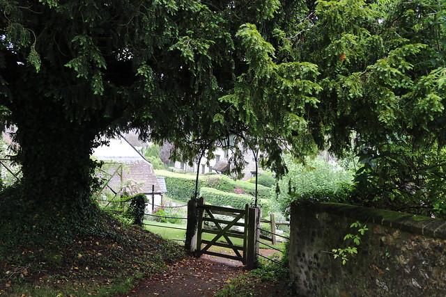Churchyard gate, Piddletrenthide