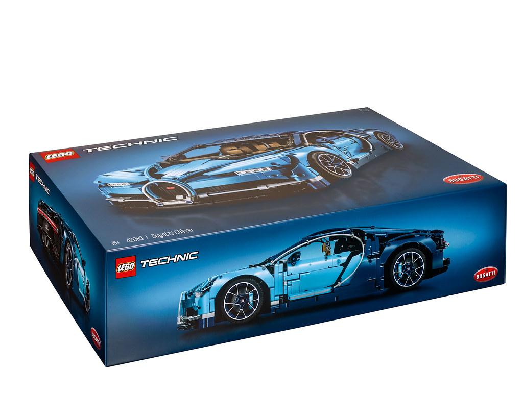 LEGO Technic Bugatti Chiron (42083) 3
