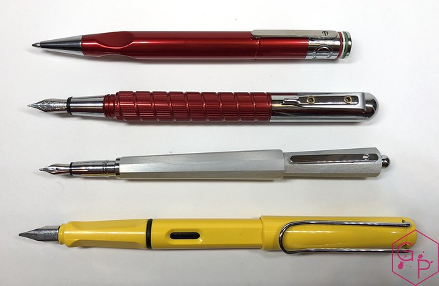 Giuliano Mazzuoli Cassia Ballpoint Pen:Pencil Review @CarolLuxury @GMazzuoli 9