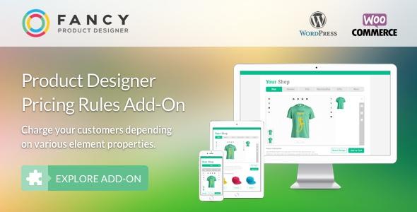 Fancy Product Designer Pricing Addon v1.0.6 – WooCommerce WordPress