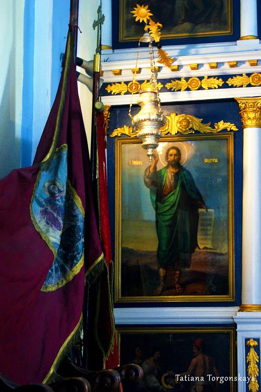 Фрагмент иконостаса церкви Св. Спаса