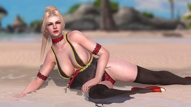 Dead or Alive 5 - Ρέιτσελ στην παραλία
