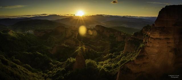 Sunset en las Médulas